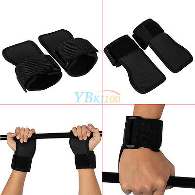 Hot Weight Lifting Grips Gym Straps Wrist Support Training Wraps Gloves Women's