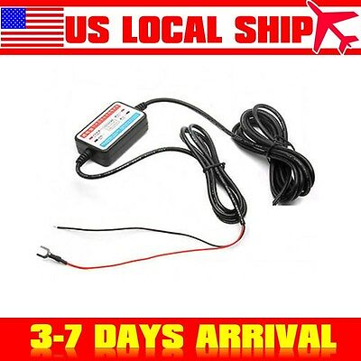 12v to 5v hard wire Cable Line Power Cord Cable mini USB For mini0801 A119 A119s