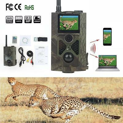 HC-550m 16MP 120° GSM GPRS MMS contrôle infrarouge Scoutisme Trail chasse caméra