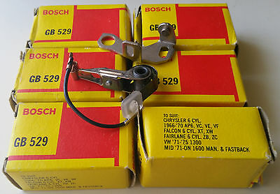 NOS Bosch GB 529 Ignition Points / Contacts - Chrysler Ford Volkswagen