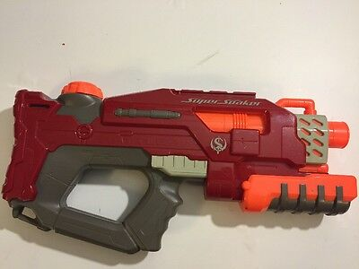 Nerf Super Soaker Rattler Red Squirt Gun Water Toy