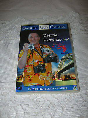Digital Photography DVD sealed New Region 4 Gadget Guy Guides