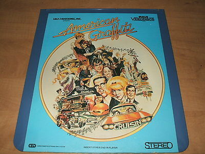 American Graffiti 1973 ~ Capacitance Electronic Disc System {Ced}