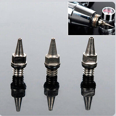 Top Sale 0.3 mm Airbrush Accessories Machine Part Fluid Nozzle With Bottle