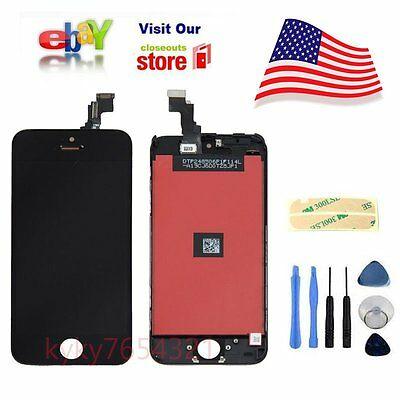 LCD Lens Touch Screen Display Digitizer Assembly Replacement for iPhone 5C New