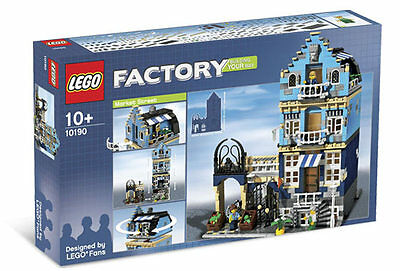 Lego 10190 Market Street with Box and Manual 100% Complete