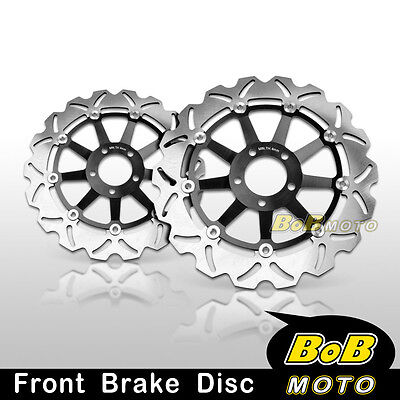Kawasaki ZZR 1200 2002-2004 2005 Front Stainless Steel Brake Disc Rotor Pair