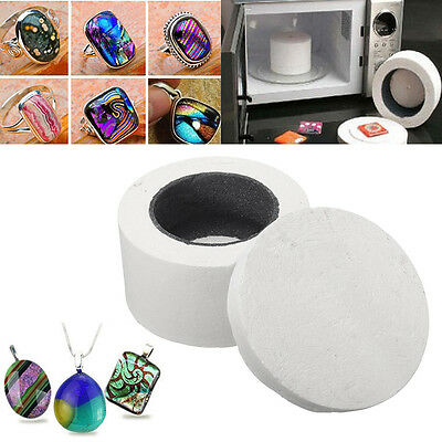 Household Small Microwave Kiln Pot Stained Ceramic Glass Fusing DIY Jewellery