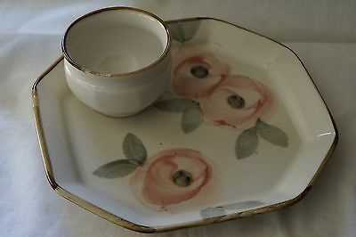Robert Gordon Pottery Orchard Blossom Chip and Dip Tray