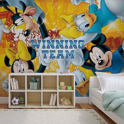 WALL MURAL PHOTO WALLPAPER XXL Disney Mickey Mouse (1257WS)