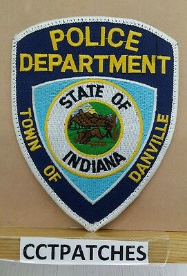 Town Of Danville, Indiana Police Shoulder Patch In
