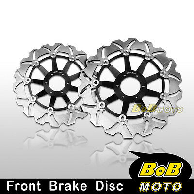 Honda CB 600F HORNET 600 1998 1999 Front Stainless Steel Brake Disc Rotor Pair
