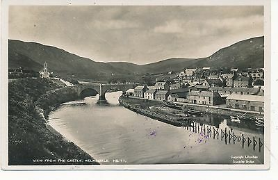 Helmsdale Harbour Real Photo 1934 Taxed In Canada