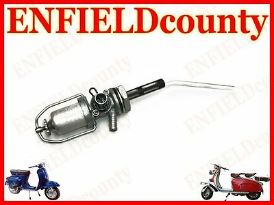 Brand New Vespa Petrol Fuel Gas Tap Assembly With Reserve All Models @cad