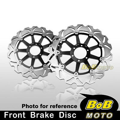 Moto Guzzi DAYTONA IE 1000 1991-1994 Front Stainless Steel Brake Disc Rotor Pair