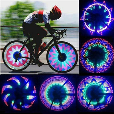32 LED Programmable Bicycle Bike Cycling Wheel Spoke Light 42 pattern MTB Cycle