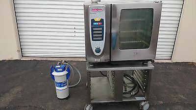 Rational Steamer Oven SCC 61 in Electric w/ Mavea Purity 1200 Quell ST Vessel
