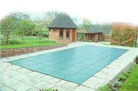 Winter swimming pool cover (15' x 30' pool size)
