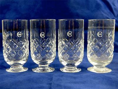 Four Royal Doulton Drinking Glasses British Airways Concorde