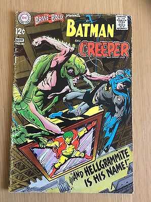 BRAVE AND THE BOLD # 80 BATMAN NEAL ADAMS Art, EXCELLENT CONDITION!