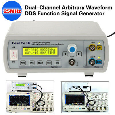 FY3200S Numerical Control Dual Channel Function/Arbitrary Waveform Generator