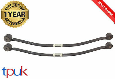Rear Leaf Spring Ford Transit 2.2 Fwd Mk7 60Mm Single Leaf Brand New Pair 06-14