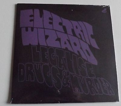 "Electric Wizard Legalise Drugs And Murder 7"" Black Vinyl"