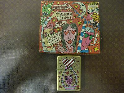 Zippo James Rizzi  Cat in LoveLimited