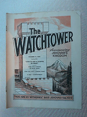 The Watchtower October 15 1956