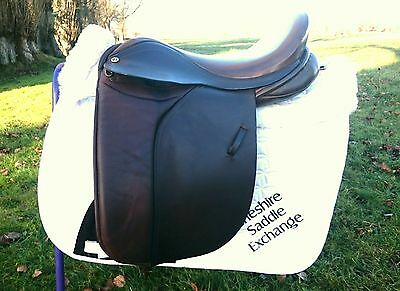 """17"""" Barnsby Extra wide/xw WH /Showing Saddle"""