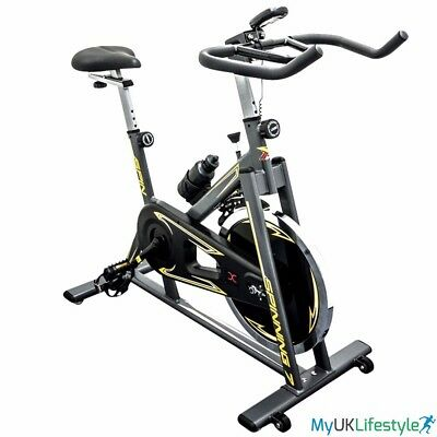 Exercise Bike Fitness Home Training Cycle Cardio Workout Spinning 18kg Fly wheel