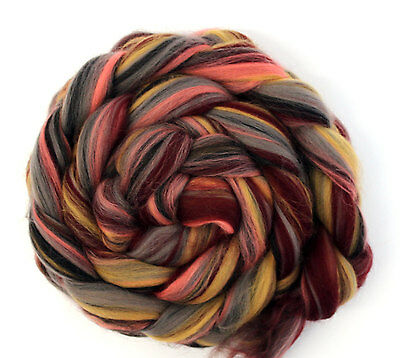 Merino Wool Blend Black Forest Combed Top 100g for Spinning Felting Roving Fibre
