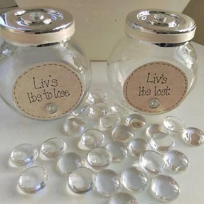 Diet jars personalised slimming weightloss tracker Ibs to lose pounds lost jars