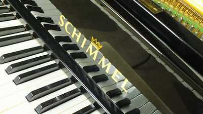 Schimmel Flügel schwarz poliert  Grand piano delivery worldwide
