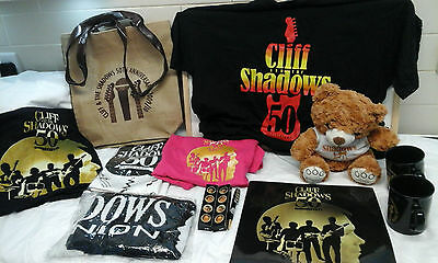 CLIFF RICHARD & THE SHADOWS- 50th Anniversary 2009/10-Collectable/memorabelia