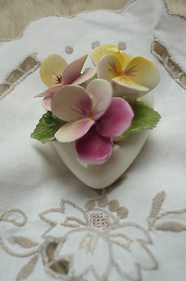 Radnor Bone China Flower Posy Heart Shaped Posy