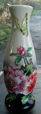 """Old Tupton Ware  Butterfly  6 """" Vase"""