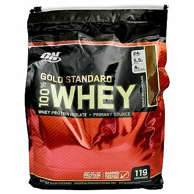 Optimum Nutrition Gold Standard Whey Protein Double Rich Chocolate 8Lb / 3.63Kg
