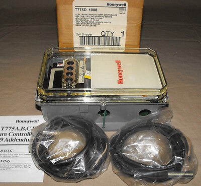Honeywell T775D 1008 Temperature Controller T775D1008 Heat or Cool Control NEW