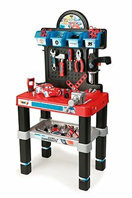 SEHR GUT: Smoby 360500 - Cars Ice Werkbank-Center
