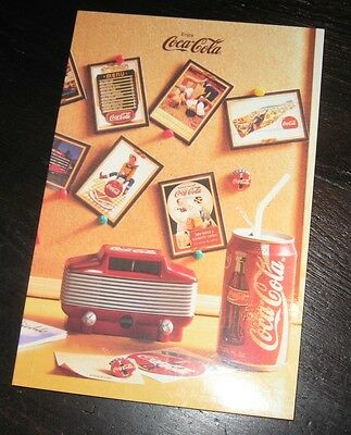 never used! Enjoy Always official Coca-Cola Coke notebook 5x8 journal diary