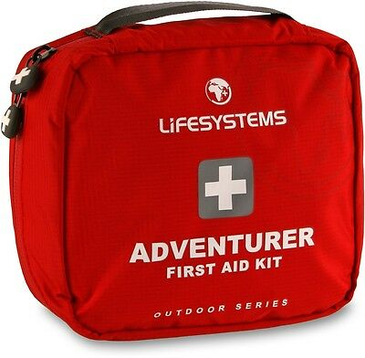Lifesystems Adventure First Aid Kit / manufactured to European quality standards