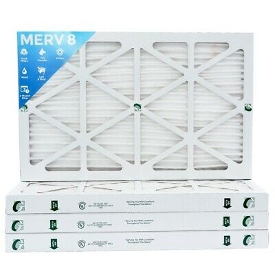 12x20x2 MERV 8 Pleated AC Furnace Air Filters. 4 Pack / $7.49 each