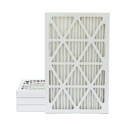 16x25x2 MERV 11 Pleated AC Furnace Air Filters.    4 Pack / $9.99 each