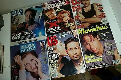 X-Files magazines collection us people movieline