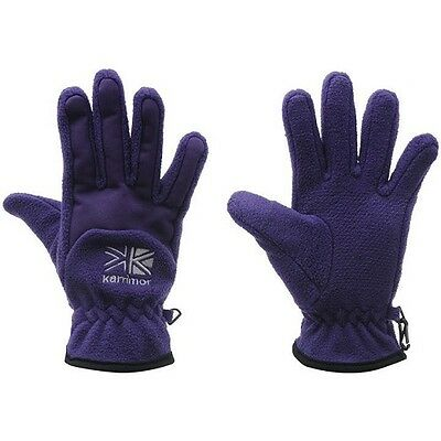 Karrimor Fleece Gloves Ladies-purple
