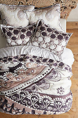 NWT Anthropologie Hothouse Collection Tahla Full Quilt and 2 Standard Shams