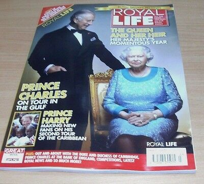 Royal Life magazine #27 2016 Queen & her Heir, Prince Charles, Prince Harry &