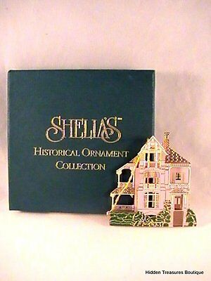 Sheila's Historical Ornament Collection-1995 Drayton House