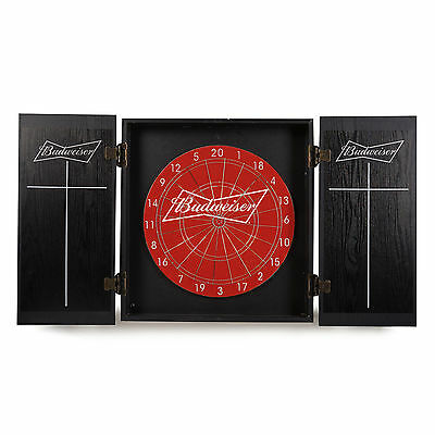 Budweiser Dart Board  with 6 darts Brand New Authentic